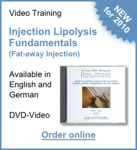 NEW for 2010! DVD Injection Lipolysis. Order online